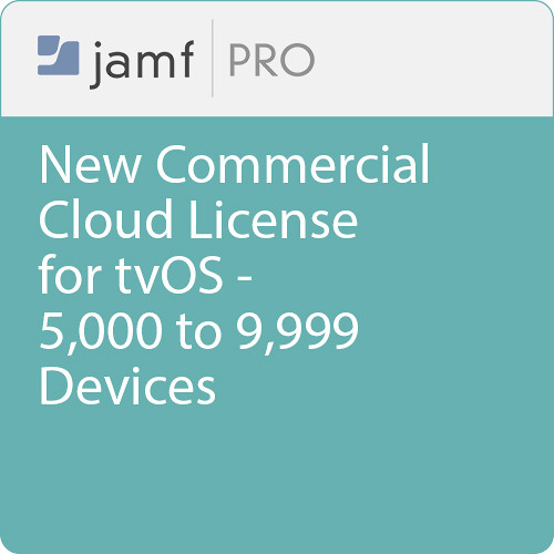 Jamf Commercial - New/  Jamf Pro Cloud  License for tvOS - 5000 to 9999 Devices