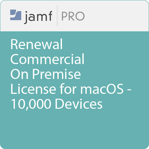 Jamf Commercial - Renewal/  Jamf Pro On Premise  License for macOS - 10000 Devices