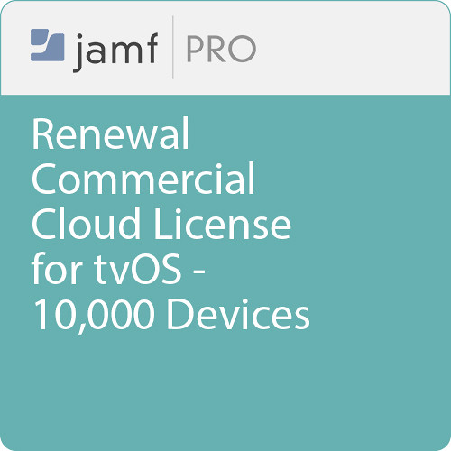 Jamf Commercial - Renewal/  Jamf Pro Cloud  License for tvOS - 10000 Devices