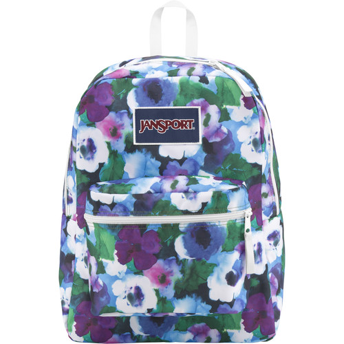 JanSport Overexposed Backpack (Multi Watercolor Floral)