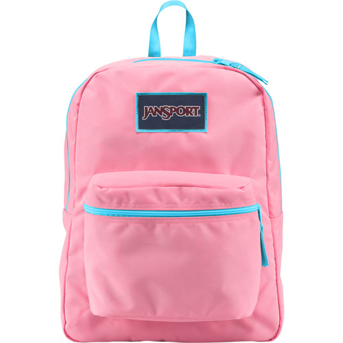 JanSport Overexposed Backpack (Pink Pansy/Mammoth Blue)