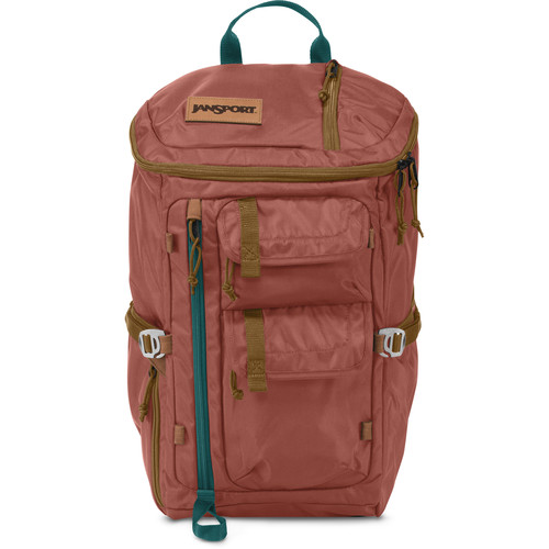 JanSport Watchtower 28L Backpack (Burnt Henna Ballistic Nylon)