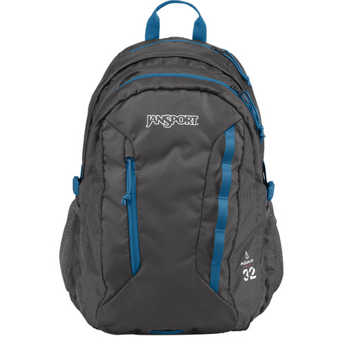 JanSport Agave 32L Backpack (Forge Gray)