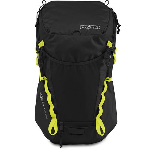 JanSport Equinox 22 Backpack (Black/Lime Punch)