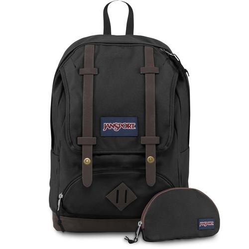 JanSport Baughman 25L Backpack (Black)