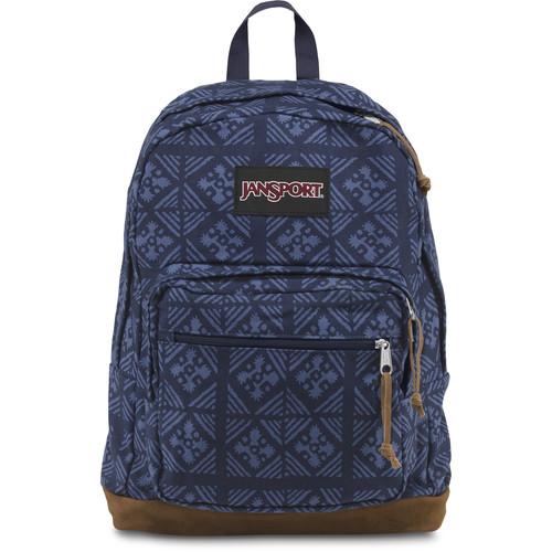JanSport Right Pack World 31L Backpack (Blue Indigo Adire)