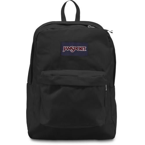 JanSport SuperBreak 25L Backpack (Black)