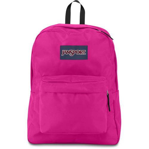 JanSport SuperBreak 25L Backpack (Cyber Pink)