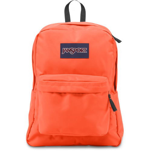 JanSport SuperBreak 25L Backpack (Tahitian Orange)