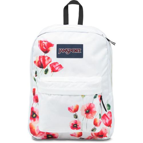 JanSport SuperBreak 25L Backpack (Multi California Poppy)