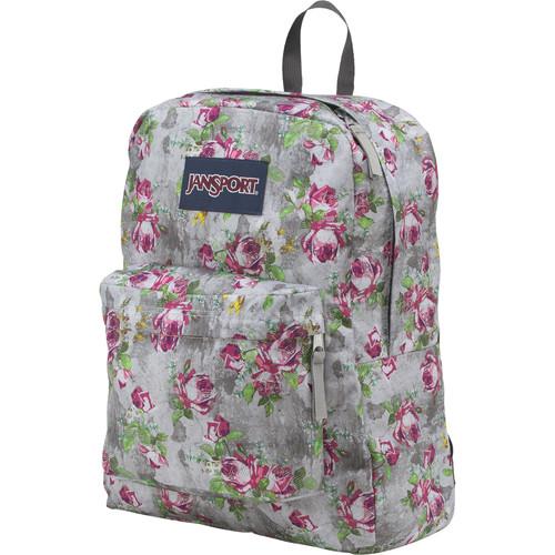 JanSport SuperBreak 25L Backpack (Multi Concrete Floral)
