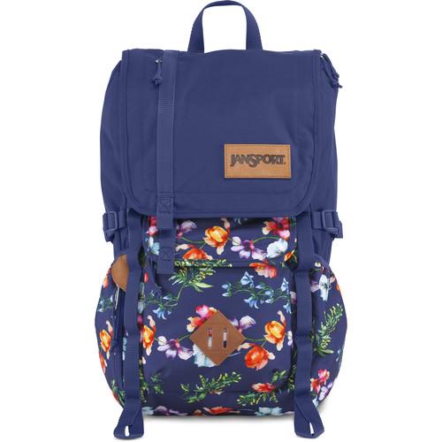 JanSport Hatchet 28L Backpack (Multi Navy Mountain Meadow)