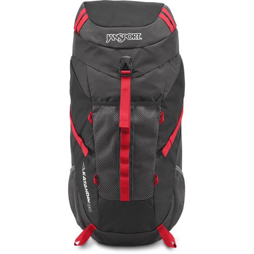 JanSport Katahdin 50 Backpack (50L, Gray Tar/Forge Gray)