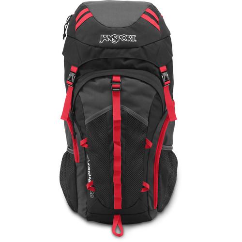 JanSport Katahdin 40 Backpack (40L, Gray Tar/Forge Gray)