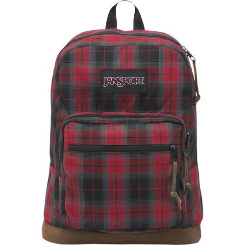 JanSport Right Pack Digital Edition 31L Backpack (Red Tape iPlaid)
