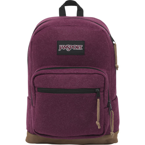 JanSport Right Pack Digital Edition 31L Backpack (Maroon Red Felt)