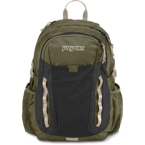 JanSport Ashford 31.5L Backpack (Green Machine/Gray Tar)