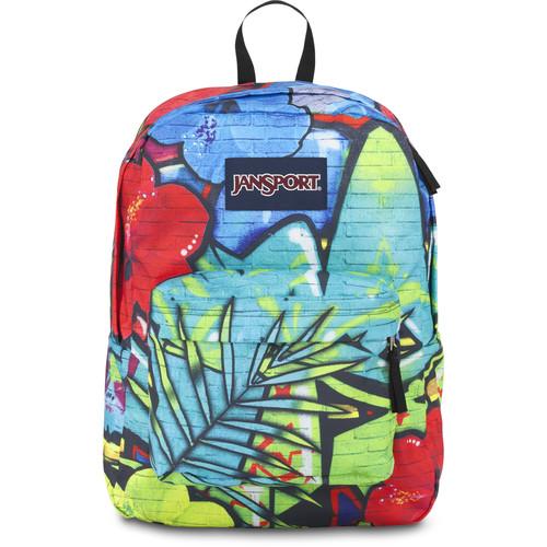 JanSport High Stakes Backpack (Multi Graffiti)