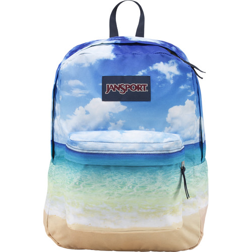 JanSport High Stakes Backpack (Multi Tropical Island)