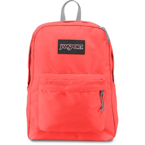 JanSport Black Label SuperBreak 25L Backpack (Tahitian Orange)