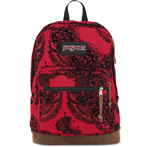 JanSport Right Pack Expressions 31L Backpack (Red Tape Ornate Flock)