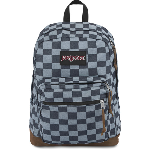 JanSport Right Pack Expressions 31L Backpack (Blue Checker Denim)