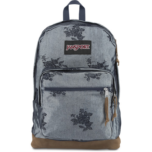 JanSport Right Pack Expressions 31L Backpack (Silver Rose Jacquard)