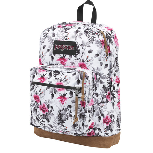 JanSport Right Pack Expressions 31L Backpack (Multi Black/White Graphic Floral)