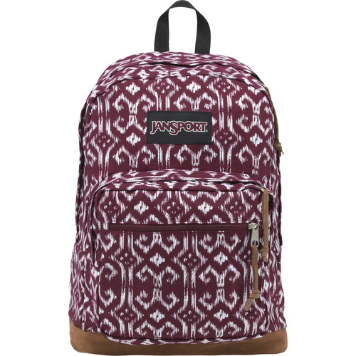 JanSport Right Pack Expressions 31L Backpack (Russet Red/Moroccan Ikat)