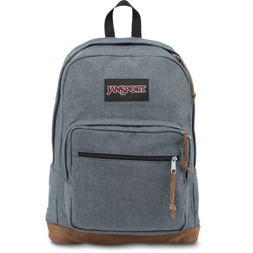 JanSport Right Pack Expressions 31L Backpack (Blue Micro Check Denim)