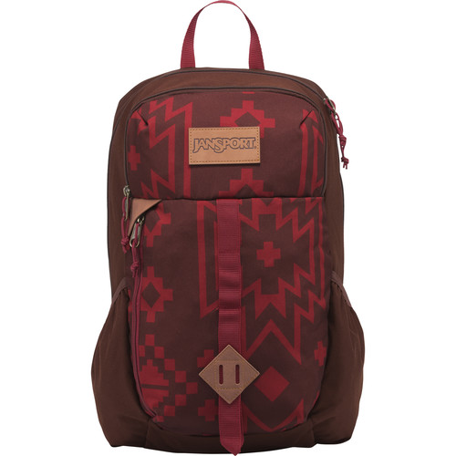JanSport Hawk Ridge Backpack (Viking Red / Crossroad)