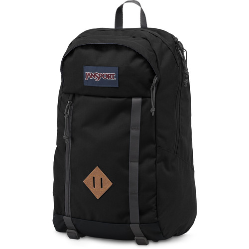 JanSport Fox Hole 25L Backpack (Black)