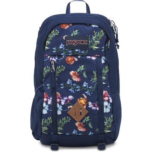 JanSport Fox Hole 25L Backpack (Multi Navy Mountain Meadow)