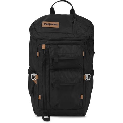 JanSport Watchtower Backpack (Black Ballistic Nylon)