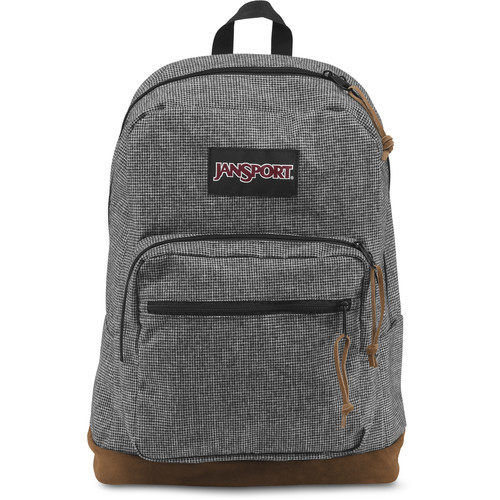 JanSport Right Pack Digital Edition 31L Backpack (Gray Houndstooth Check)