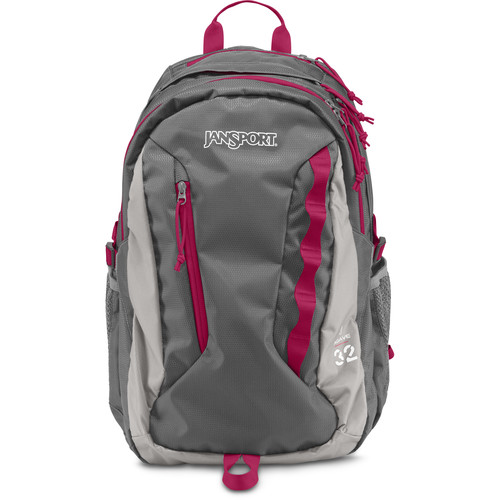 JanSport Women's Agave 32L Backpack (New Storm Gray)