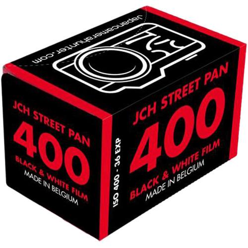 Japan Camera Hunter StreetPan 400 Black and White Negative Film (35mm Roll Film, 36 Exposures)