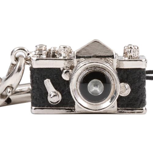 Japan Hobby Tool Miniature SLR Camera Charm (Black)