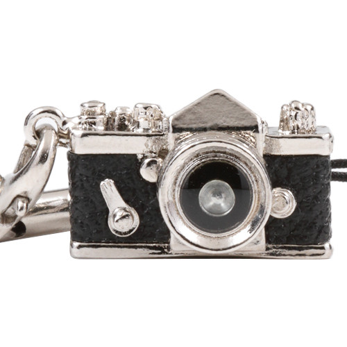Japan Hobby Tool Miniature SLR Camera Charm (Black)