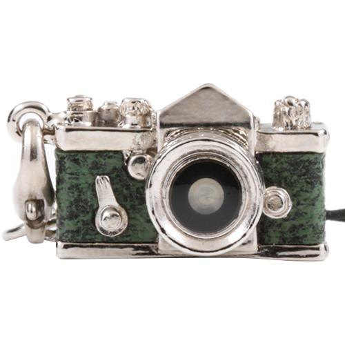 Japan Hobby Tool Miniature SLR Camera Charm (Green)
