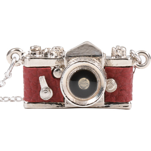 Japan Hobby Tool Miniature SLR Camera Necklace (Red)