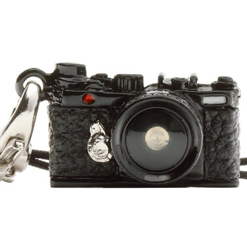 Japan Hobby Tool Miniature Range Finder Camera Charm (Black)