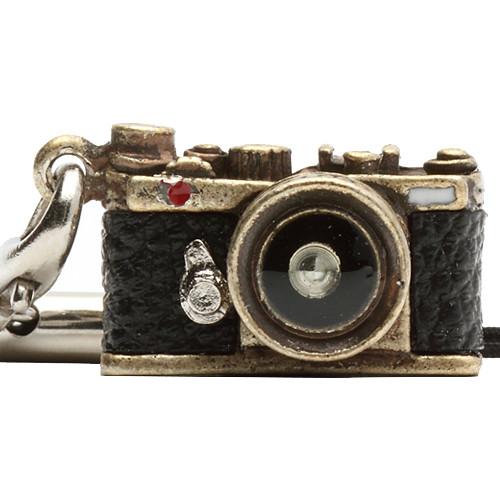 Japan Hobby Tool Miniature Range Finder Camera Charm (Antique Brass)