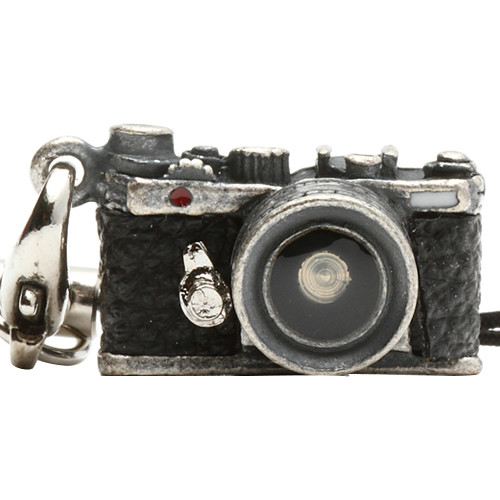 Japan Hobby Tool Miniature Range Finder Camera Charm (Antique Silver)