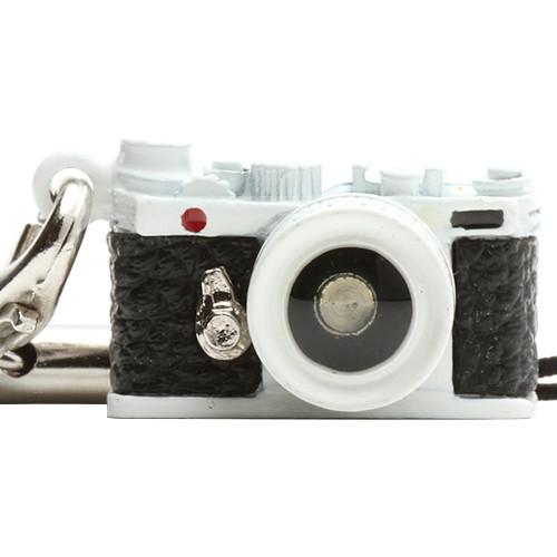 Japan Hobby Tool Miniature Range Finder Camera Charm (White)