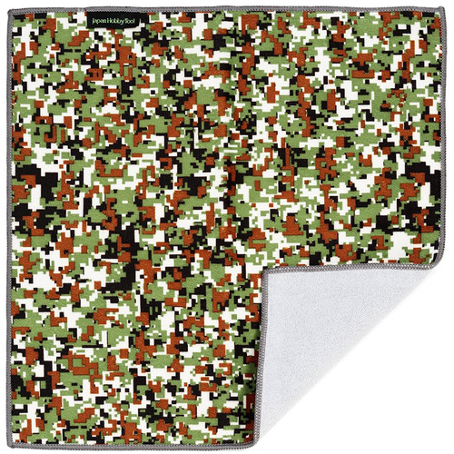 Japan Hobby Tool EASY WRAPPER Protective Cloth (Extra Large, Digital Camouflage Green)