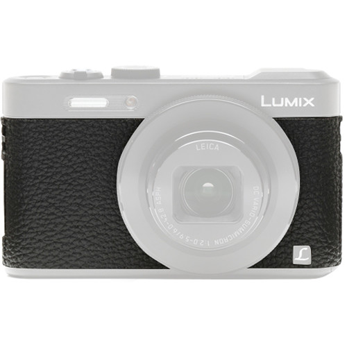 Japan Hobby Tool Camera Leather Decoration Sticker for Panasonic Lumix DMC-LF1 Digital Camera (4008 Black)