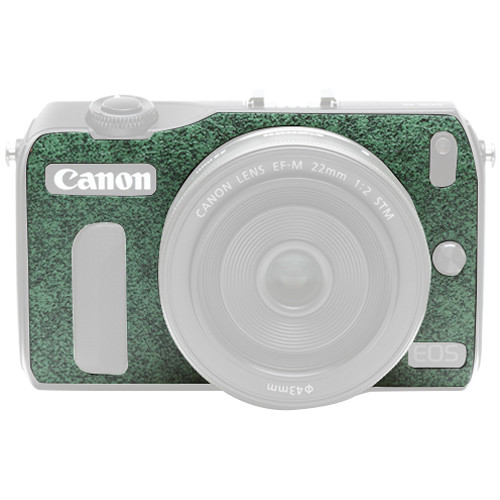 Japan Hobby Tool Camera Leather Decoration Sticker for Canon EOS M Mirrorless Camera (7027 Green)