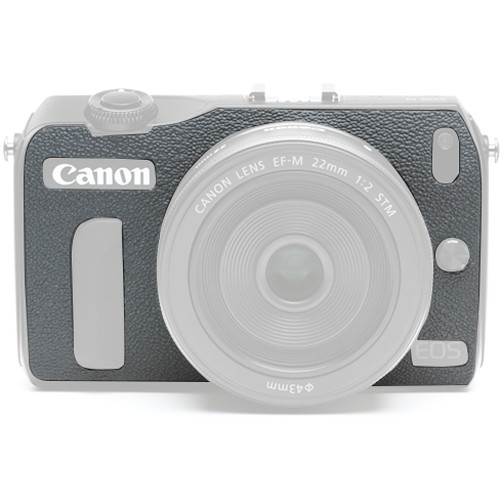 Japan Hobby Tool Camera Leather Decoration Sticker for Canon EOS M Mirrorless Camera (8005 Gray)