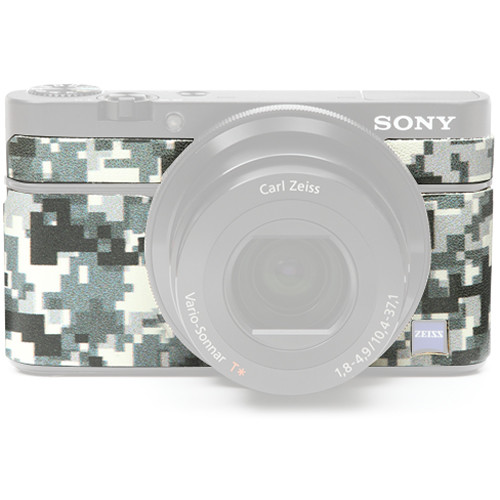 Japan Hobby Tool Camera Leather Decoration Sticker for Sony RX100 Digital Camera (Digital Camouflage)